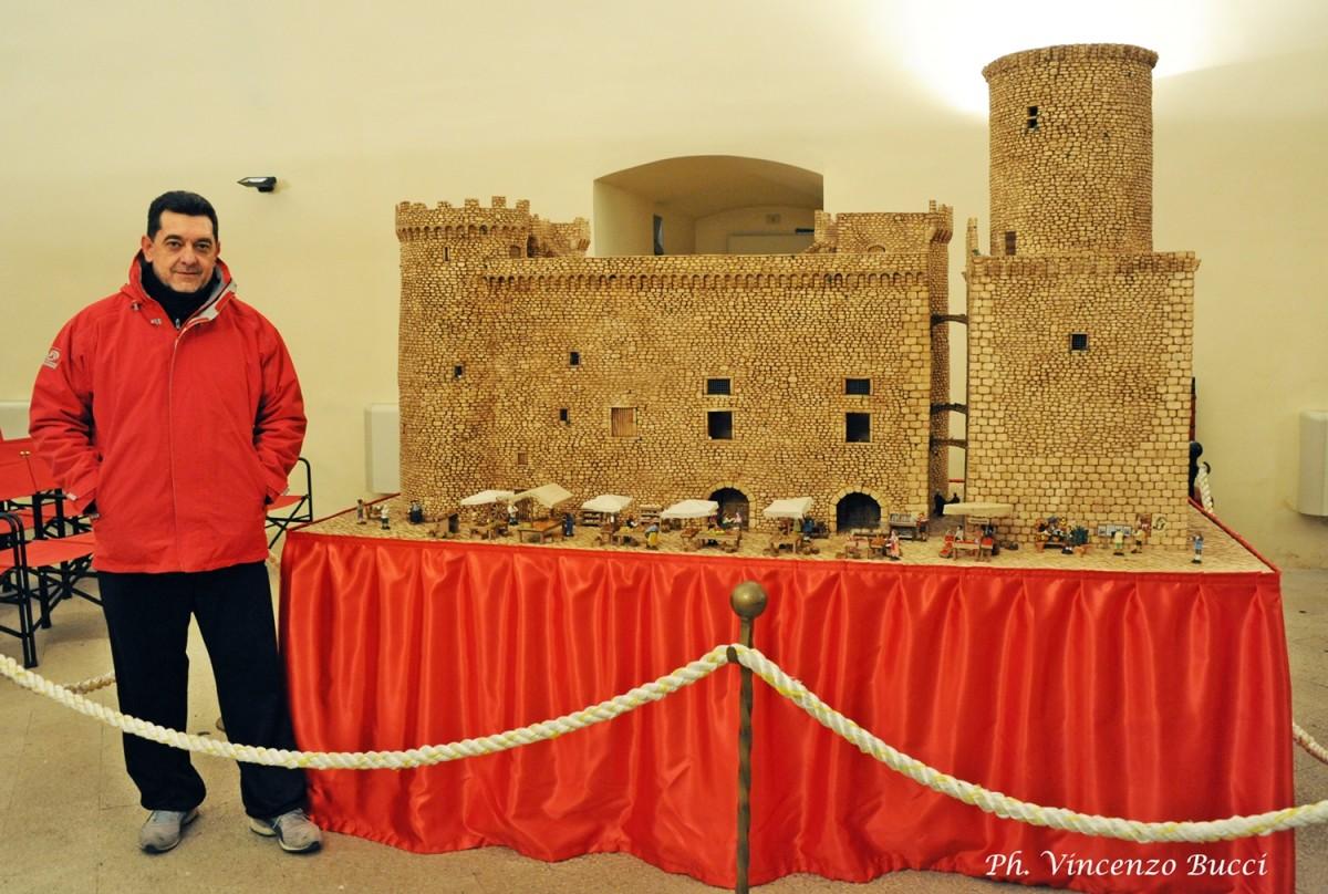 Danilo Salvatori e il suo Castello Presepe
