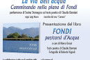 """Lo sguardo di un poeta e di un fotografo in un libro che celebra Fondi: Damiani e Vignoli hanno scritto e scattato """"Fondi per/corsi d'acqua"""""""