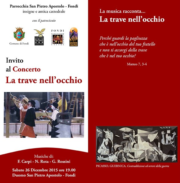 Slide Concerto La trave nell'occhio - 2015 - Enzo Paolo Cima