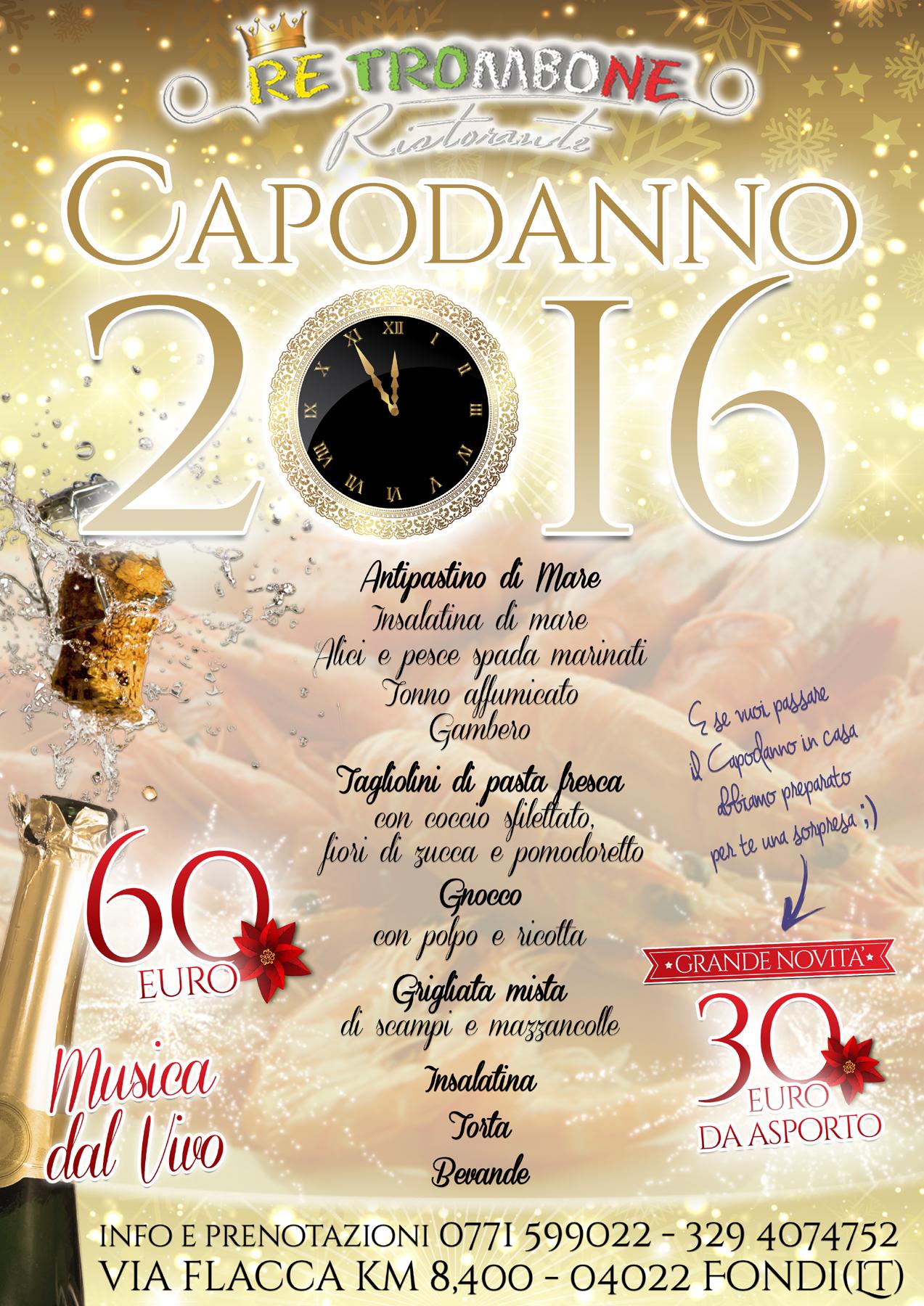 locandina ristorante re trombone capodanno 2016 x WEB