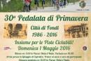 """Fondi, Domenica 1° Maggio al via alla 30^ edizione della """"Pedalata di Primavera """""""