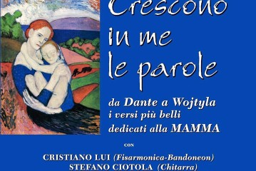 """Fondi, spettacolo dedicato alla Festa della Mamma: """"Crescono in me le parole"""""""