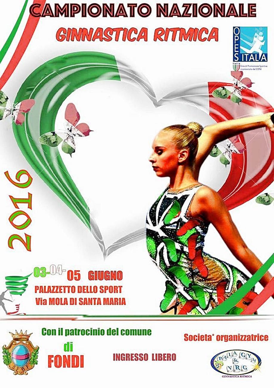 Campionato Nazionale Ginnastica Ritmica 2016