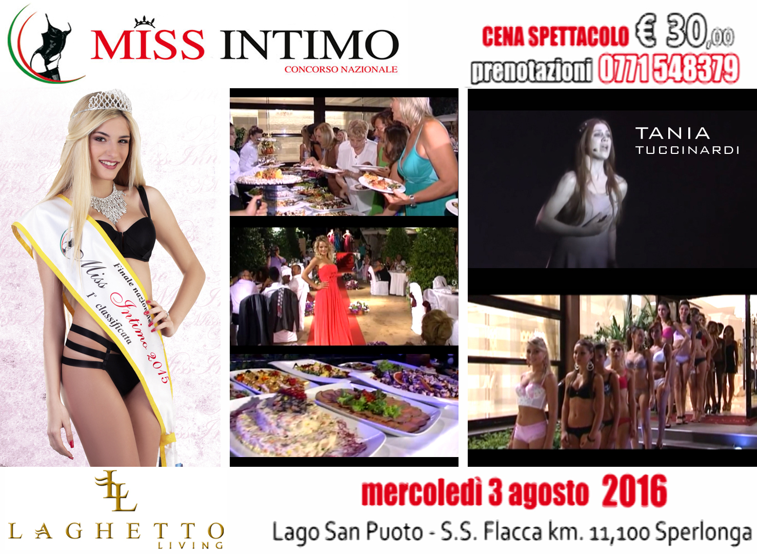 SLIDE EVENTO MISS INTIMO 2016 LAGHETTO LIVING