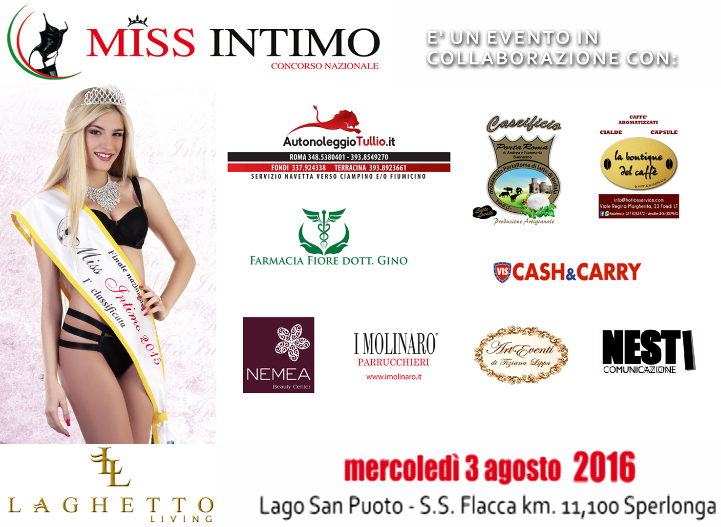 SLIDE SPONSOR MISS INTIMO 2016 LAGHETTO LIVING