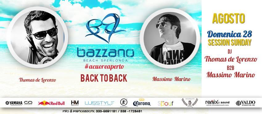 slide domenica 28 agosto 2016 BAZZANO BEACH