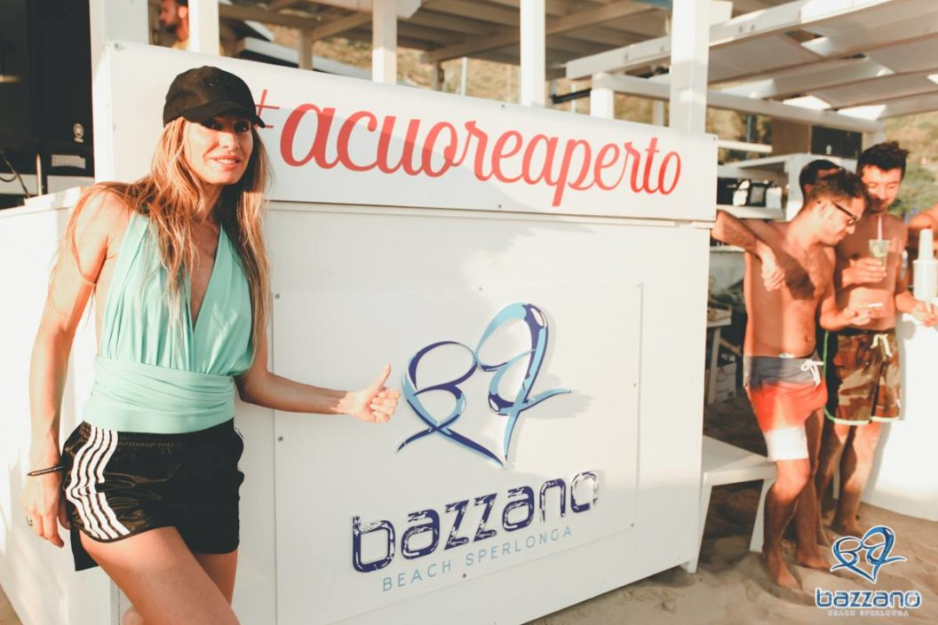 Rita Gherz a Bazzano Beach 1