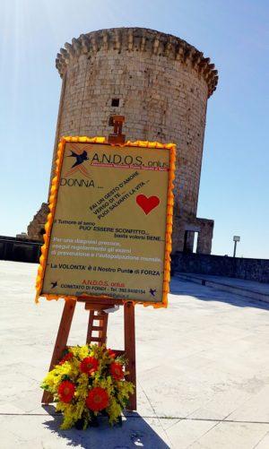 ANDOS FONDI - terrazza Castello Caetani