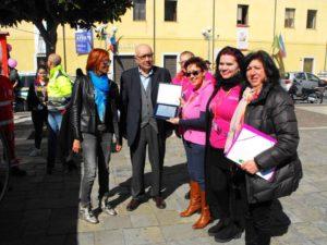 Targa Riconoscimento ANDOS FONDI - In piazza per te Formia
