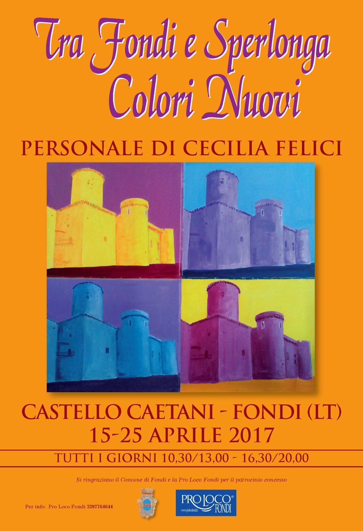 CECILIA FELICI locandina mostra
