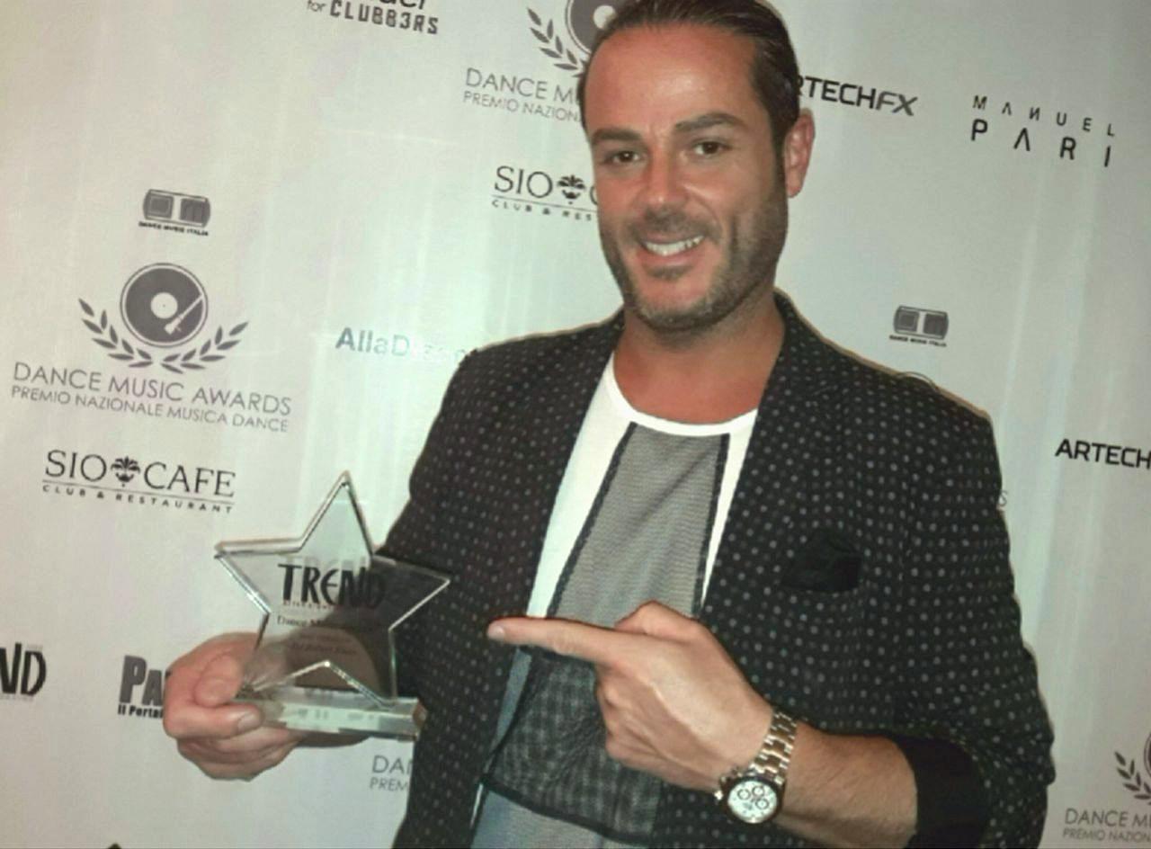 Foto premiazione Robert Blues