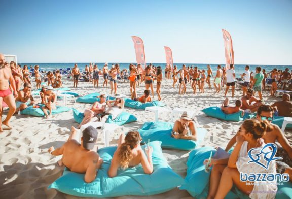 A Bazzano Beach è tempo di aperitivi sulla riva
