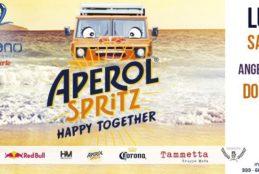 A Bazzano Beach, la musica di dj Jef e il tour di Aperol Spritz Happy Together