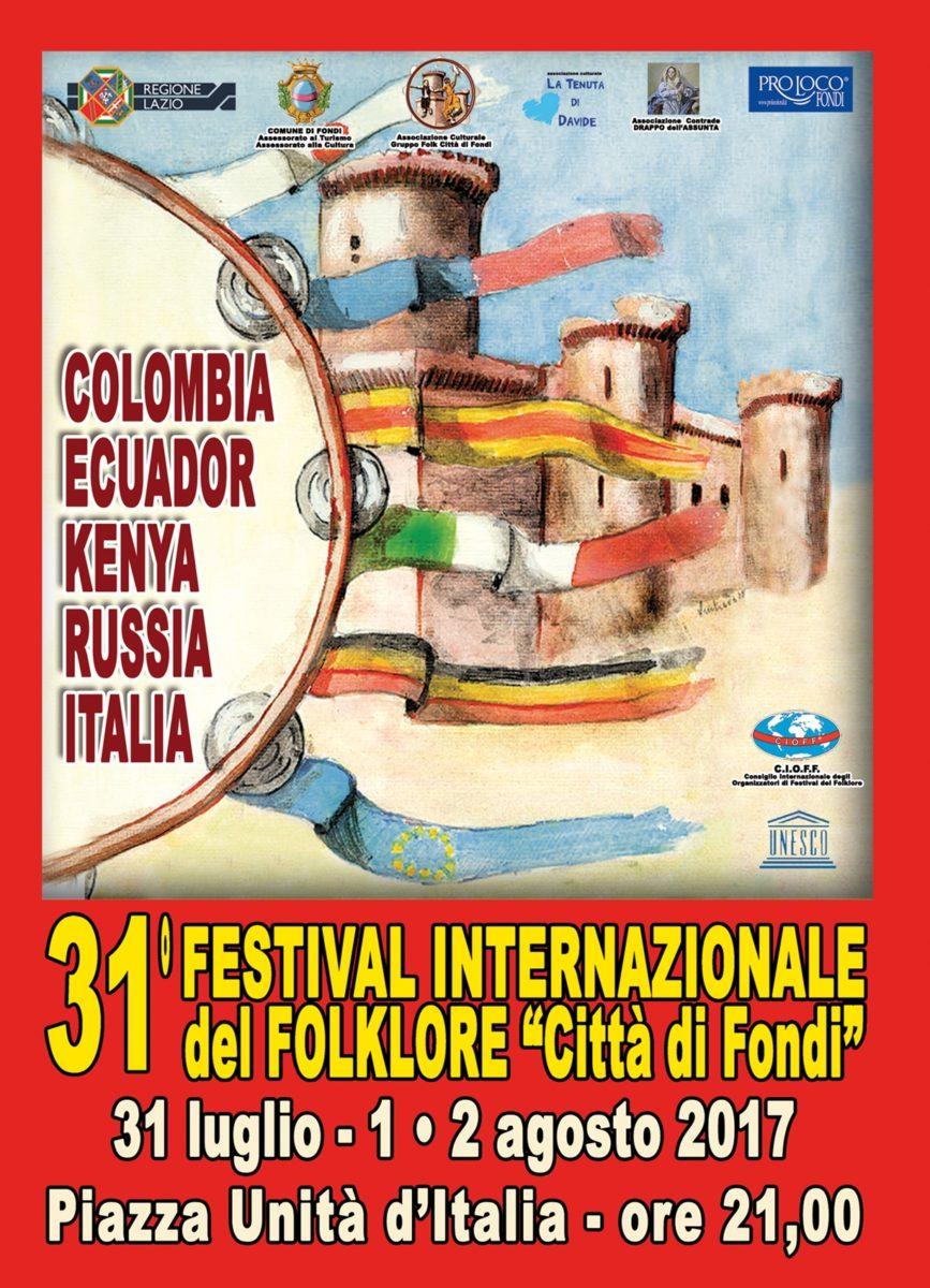 LOC. Festival Internaz. Folklore Fondi 2017
