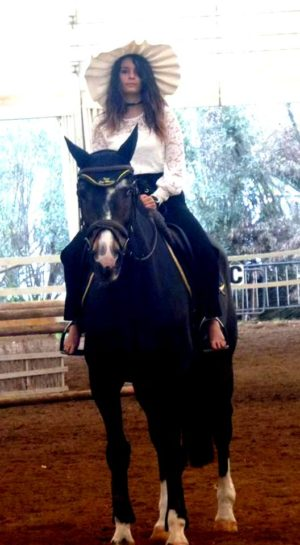 Erika Piras cavallo 1