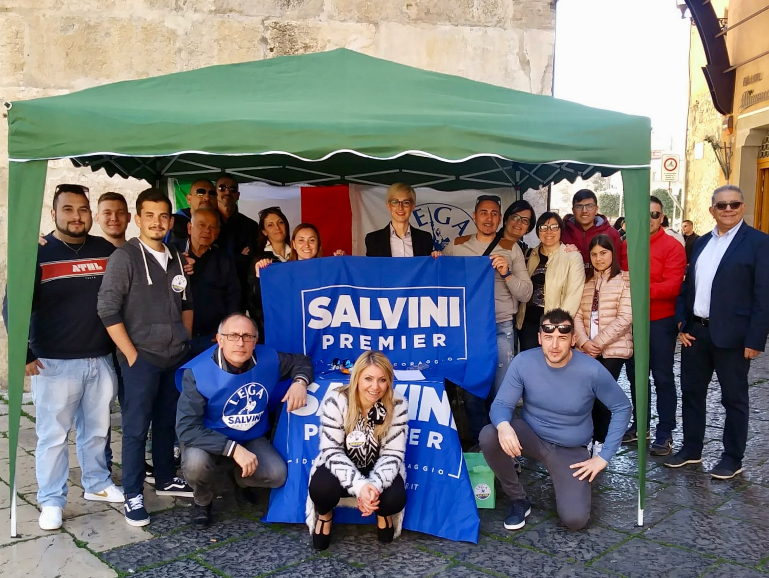gazebo domenica 24 mar 2019
