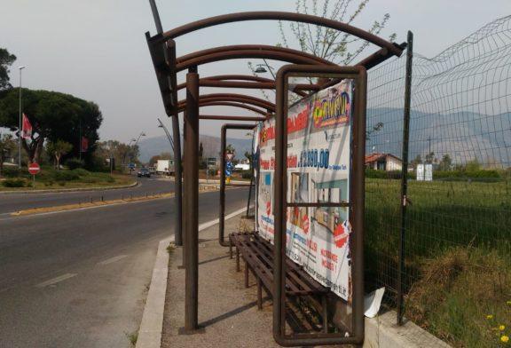 Lega, trasporto pubblico a Fondi: emergenza pensiline