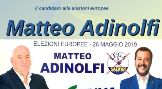 Domani Matteo Adinolfi a Fondi