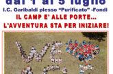 L'I.C. GARIBALDI di Fondi apre le porte al City Camp 2019