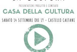 Presentazione progetto e comitato Casa della Cultura