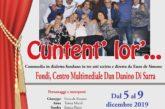 """In scena """"Cuntent' lor'"""" – Commedia in dialetto fondano in tre atti scritta e diretta da Enzo de Simone"""