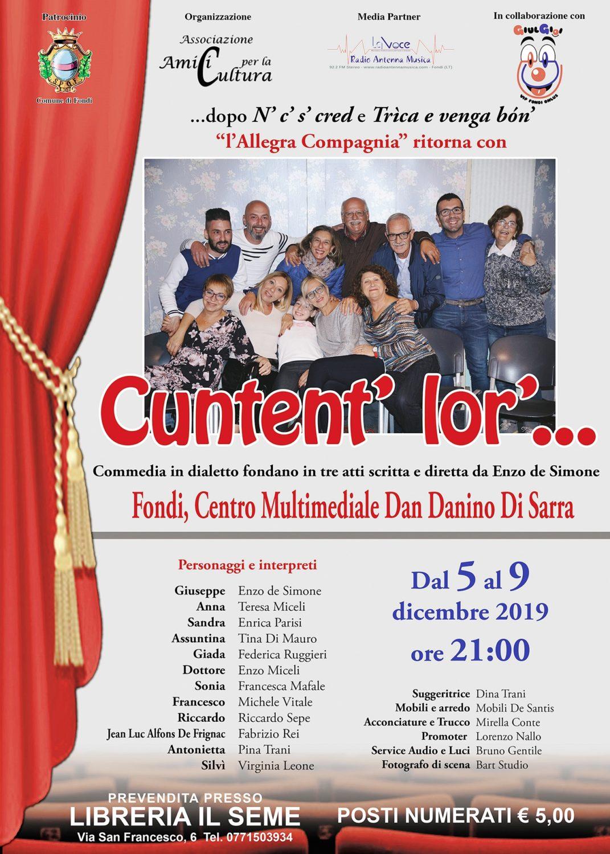 Loc. commedia Cuntent' lor' - Enzo de Simone
