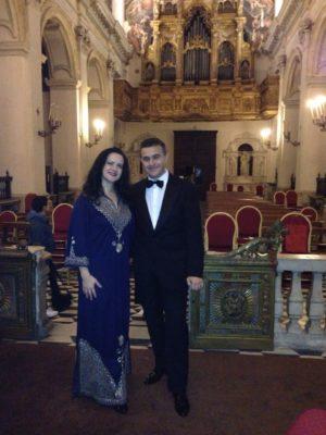 Dal Tuo Stellato Soglio Una solenne preghiera per le vittime della Pandemia- Olga De Maio soprano e Luca Lupoli tenore