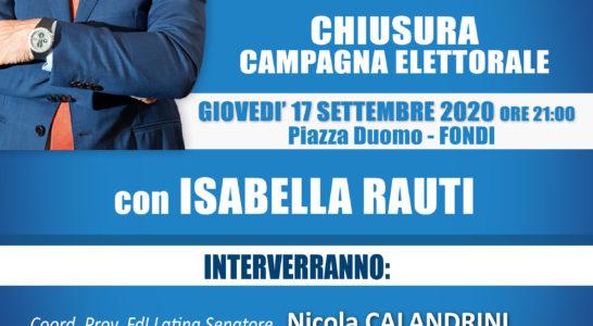 QUESTA SERA, giovedì 17 in Piazza Duomo, chiusura della campagna elettorale del candidato sindaco Giulio Mastrobattista