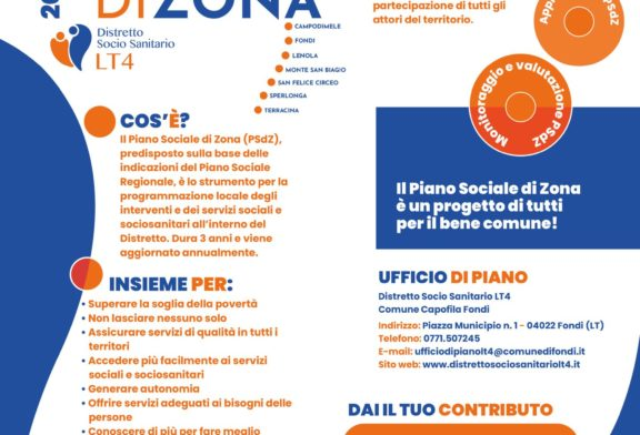Piano Sociale di Zona, online il questionario per contribuire al miglioramento dei servizi del Distretto socio sanitario LT4