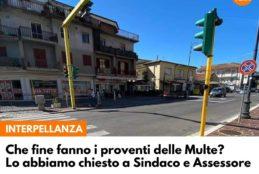 FONDI VERA – destinazione proventi derivanti dalla riscossione delle multe, interpellanza di Francesco Ciccone