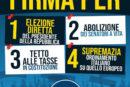 Fratelli d'Italia, anche a Fondi raccolta firme per le 4 proposte di legge di iniziativa popolare