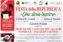 """""""Una storia tricolore"""", Fondi celebra la Festa della Repubblica con il primo concerto in presenza della stagione"""