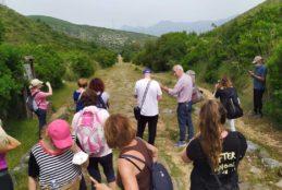 Fondi, partecipazione al trekking smart photography sull'Appia antica. Prossimo evento, domenica 4 luglio al Laghetto degli Alfieri