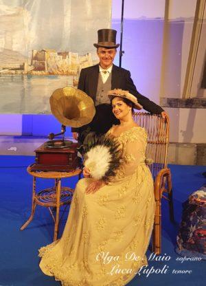 Olga De Maio soprano e Luca Lupoli tenore