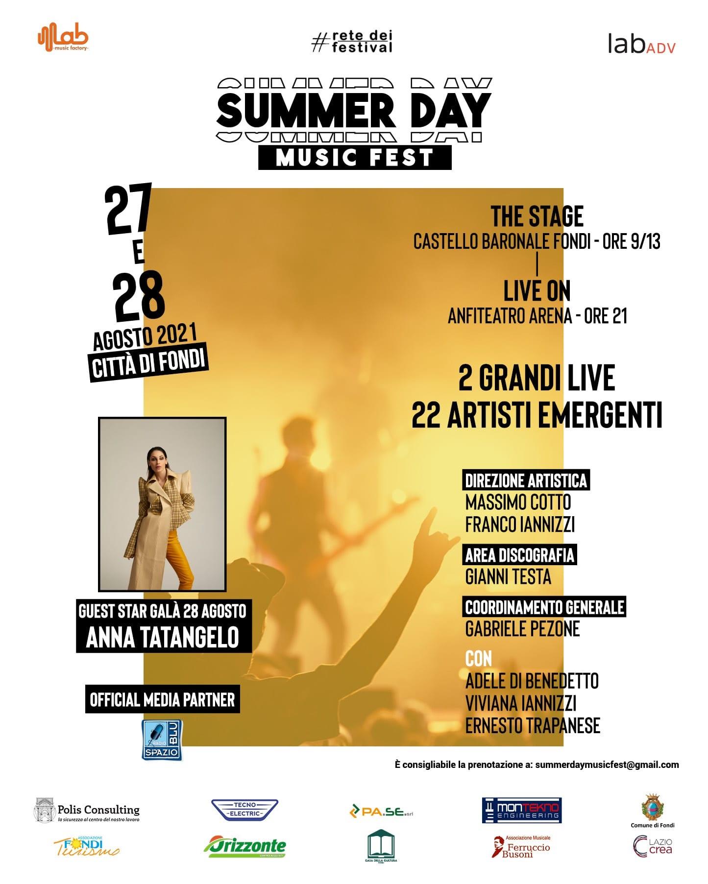locandina Summer Day Fondi